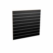 Panel sklepowy CZARNY ze wsuwkami aluminiowymi 100 x 90 cm F10