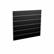 Panel sklepowy CZARNY ze wsuwkami aluminiowymi 100 x 90 cm F15
