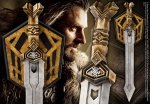 Hobbit - Miecz Thorina Króla 72 cm - replika 1:1