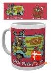 Scooby Doo - Kubek świąteczny XMAS Deck Everything