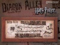 Harry Potter - mapa ulicy Pokątnej