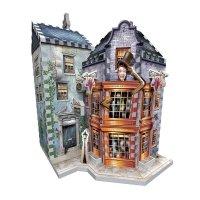Harry Potter - Puzzle 3D Magiczne dowcipy Weasleyów i Prorok Codzienny 285 el.