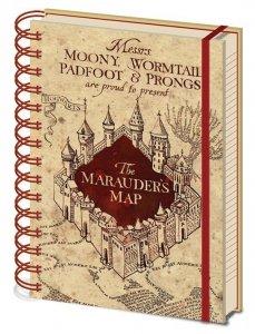 Harry Potter - Zeszyt A5 Mapa Huncwotów
