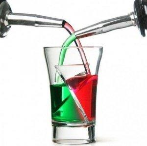 Zakręcone kielony - Twister Shots - 5 szt