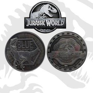 Jurassic World - Moneta kolekcjonerska Blue edycja limitowana