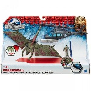 Jurassic World - Pteranodon 30 cm vs Helikopter - Hasbro