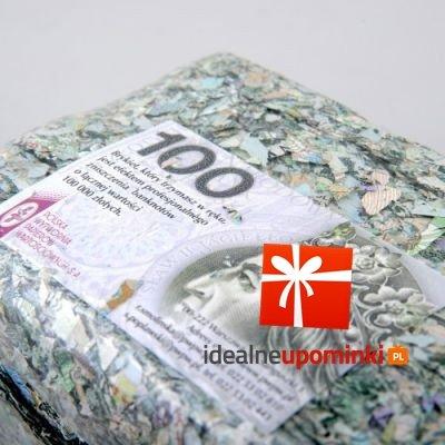 Brykiet 100 zł - podaruj 100.000 zł !!!