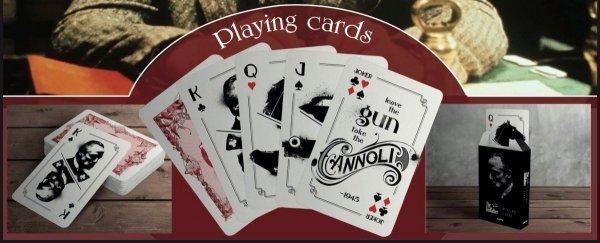 Ojciec Chrzestny - Karty do gry