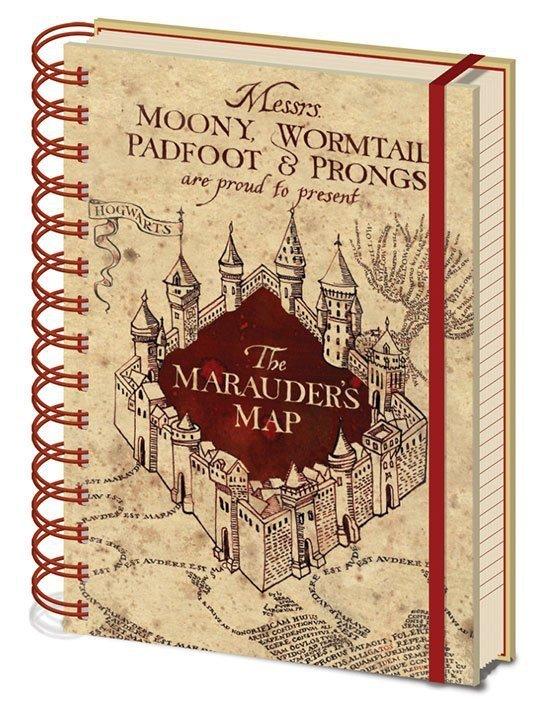 zeszyt mapa huncwotów harry potter