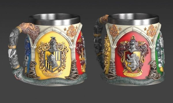 Harry Potter - Kubek domy Hogwart 3D