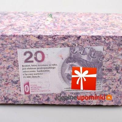 Brykiet 20 zł - Podaruj 25.000 zł !!!
