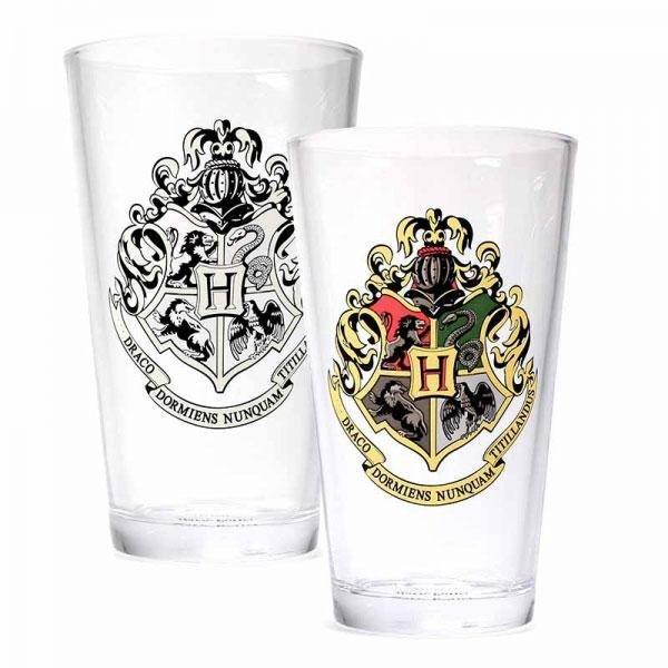 Harry Potter - Szklanka termoaktywna Hogwart logo