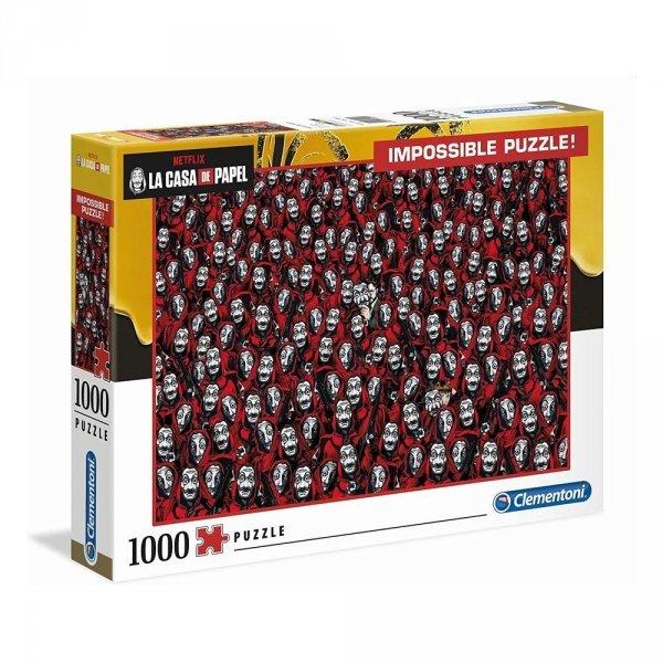 Dom z papieru - Puzzle 1000 el. Impossible