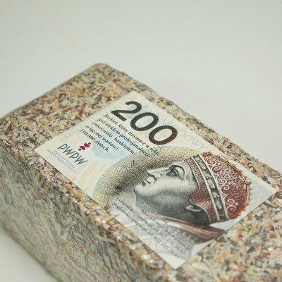 Brykiet 200 zł - podaruj 150.000 zł !!!