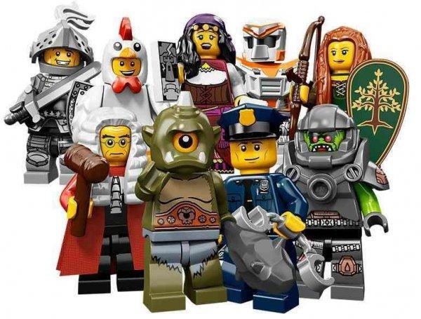 LEGO MINIFIGURKI 71000 - SERIA 9