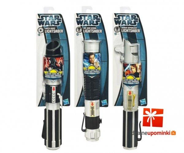 Miecz Gwiezdne Wojny - Wysuwany do zabawy - Star Wars