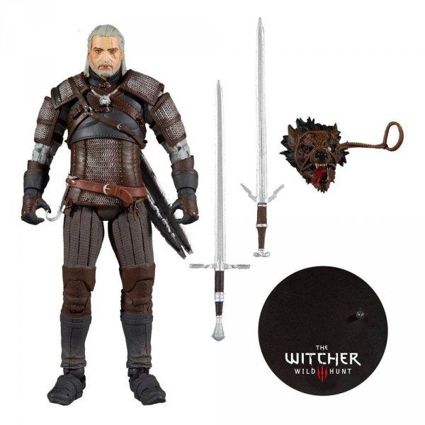 Wiedźmin - Figurka Geralt 18 cm Action Figure