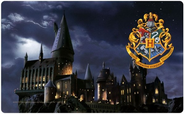 Harry Potter - Deska do krojenia Hogwart
