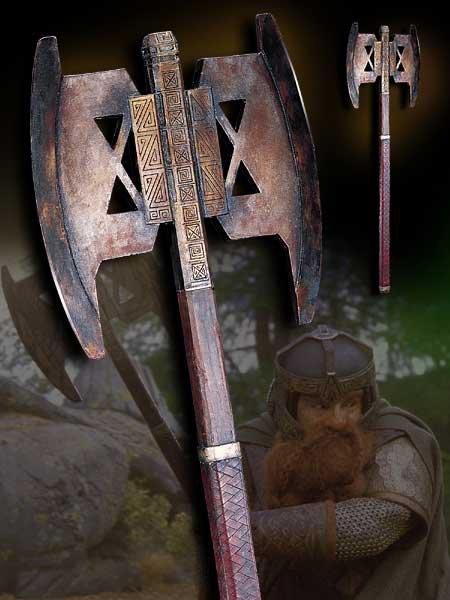 Władca Pierścieni - Topór Gimli - replika 1:1