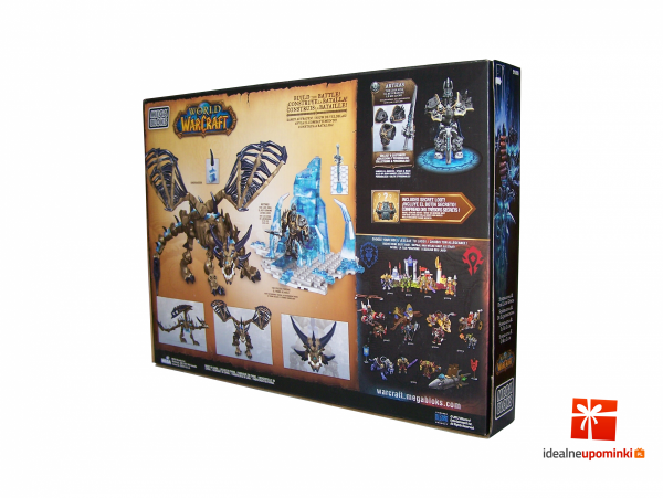 Mega Bloks World of Warcraft - Sindragosa i The Lich King