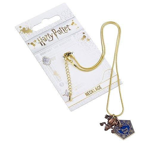 Naszyjnik z wisiorkiem czekoladowa żaba (posrebrzany) - Harry Potter