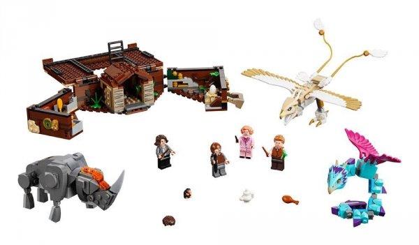 Fantastyczne zwierzęta - Lego 75952 Walizka Newta z magicznymi stworzeniami