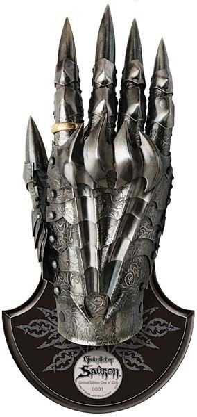 Hobbit - Rękawica Saurona - Replika 1:1