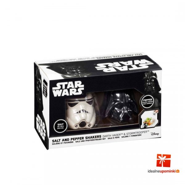 Star Wars - Solniczka i pieprzniczka Darth Vader & Stormtrooper