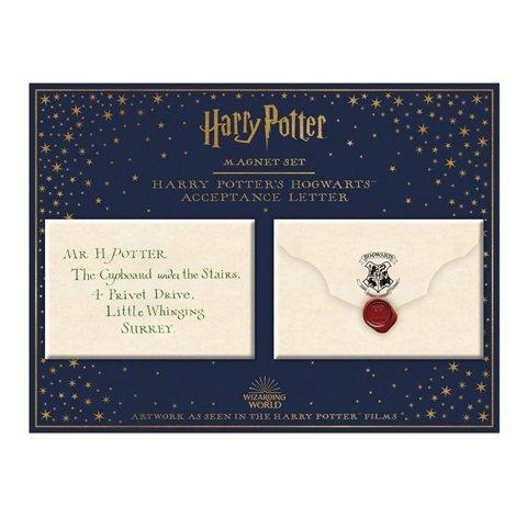 Harry Potter - List z Hogwartu Magnesy na lodówkę