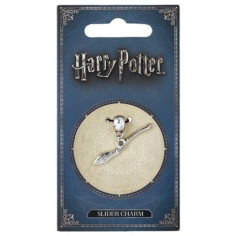Zawieszka Charm Miotła Nimbus 2000 - Harry Potter (posrebrzane)