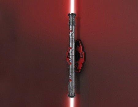 Gwiezdne Wojny miecz świetlny - lampka nocna Darth Maul