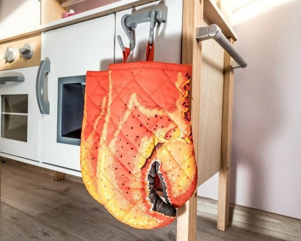 Rękawice kuchenne Krab