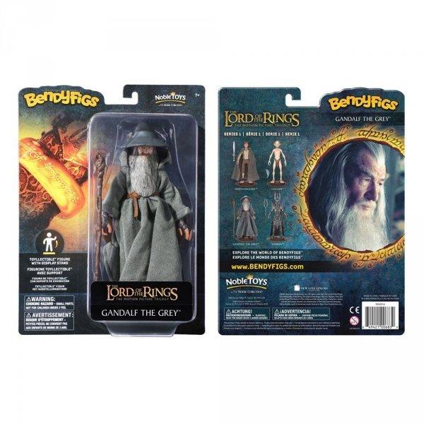 Władca Pierścieni - Figurka Gandalf 19 cm Bendyfigs