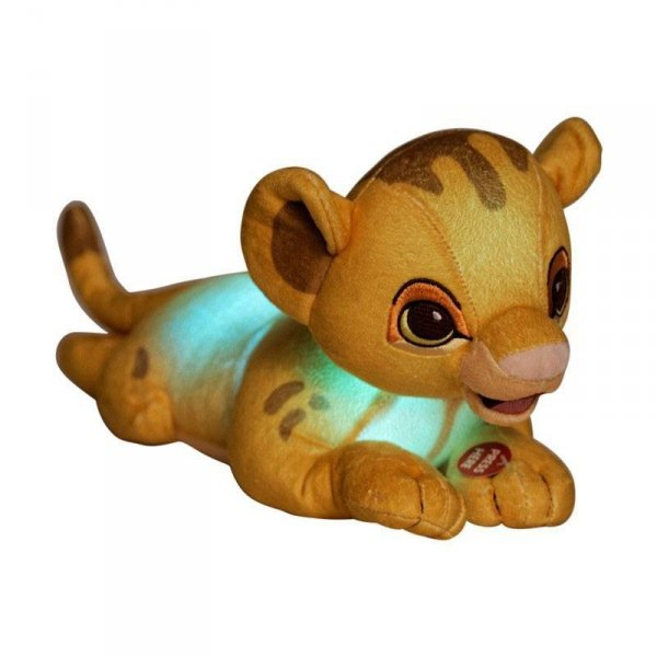 Król Lew - maskotka Simba 28 cm świecący w ciemności (Light-Up)