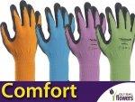 Uniwersalna Rękawice Ogrodnicze - Comfort - Elastyczne i wygodne.