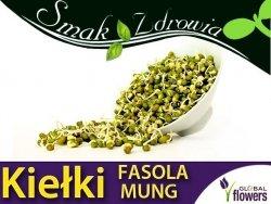 Nasiona na Kiełki - Fasola Mung - (Phaseolus mungo) nasiona 40g