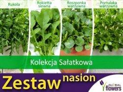 Kolekcja Sałatkowa (zestaw 4 gatunków) nasiona