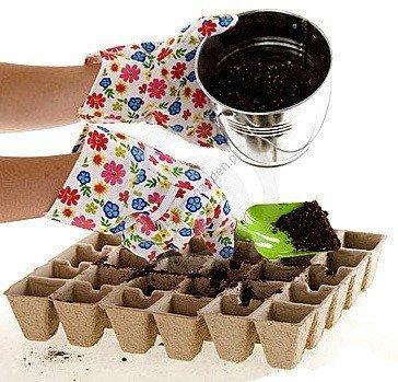 Jiffy wielodoniczki torfowe do ekologicznej uprawy