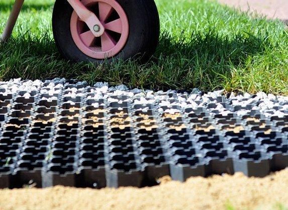 Kratka trawnikowa Garden Grid (537x 521x 40mm) 4szt.