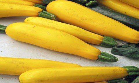 Żółte cukinie, wspaniałe uzupełnienie dań