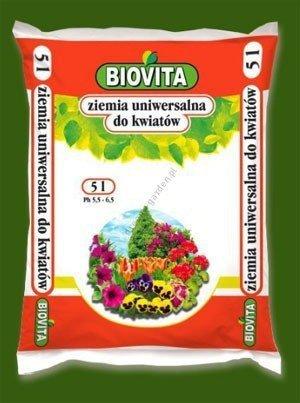Ziemia uniwersalna do kwiatów 5L