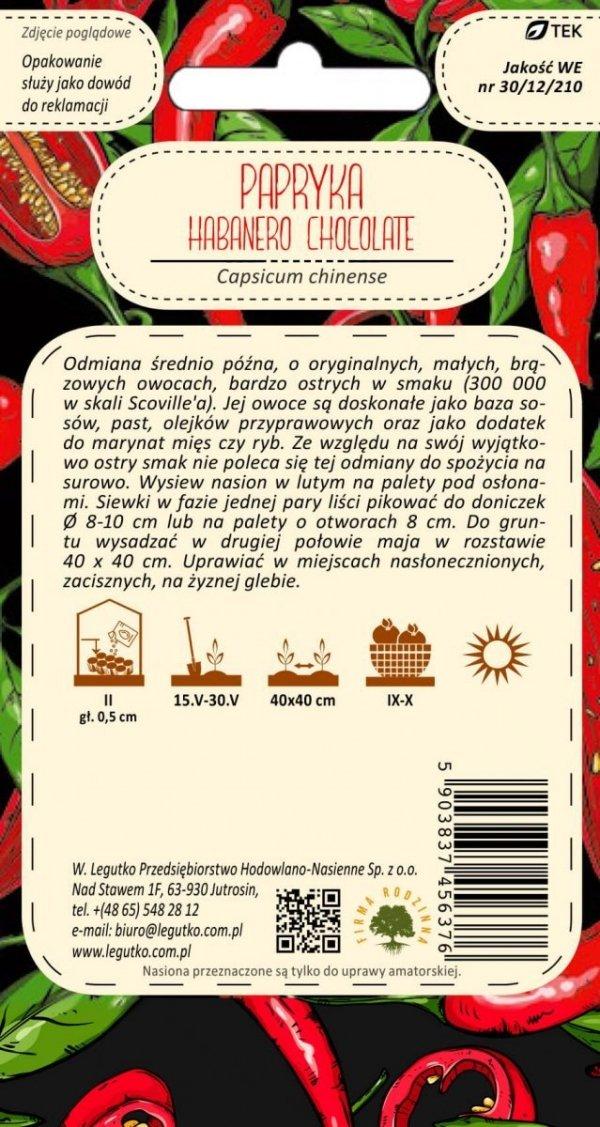 Papryka Habanero Chocolate nasiona
