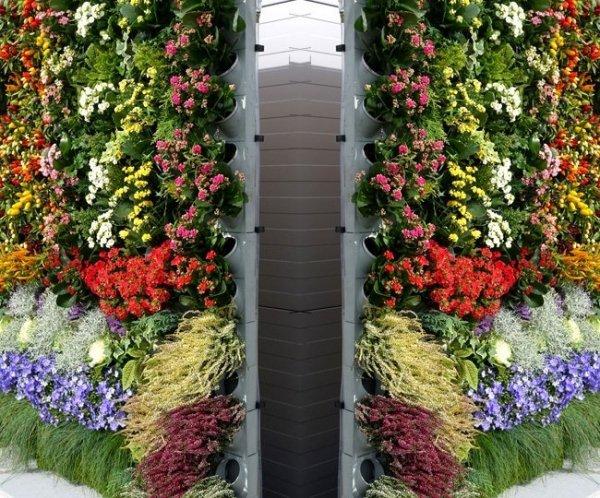 System ogrodów wertykalnych Pixel Garden Duży moduł PG14