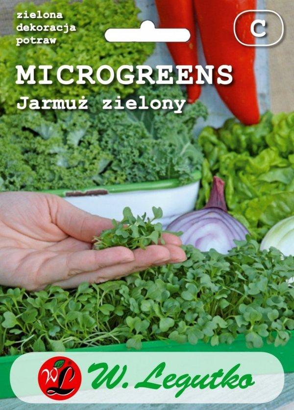 Jarmuż zielony mikrolistki