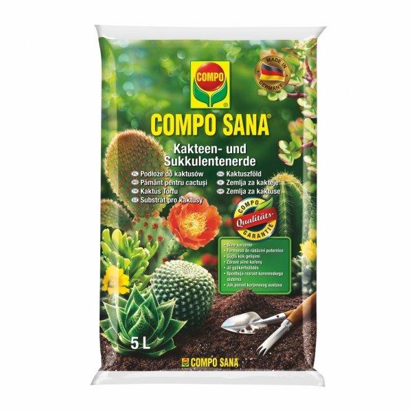 Podłoże do kaktusów i sukulentów COMPO SANA 5 l