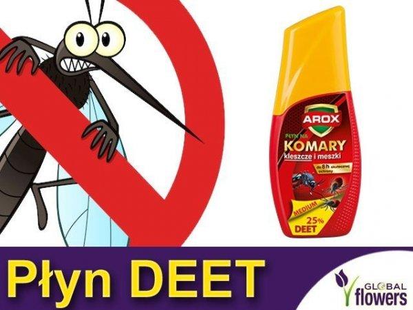 AROX Płyn odstraszający na komary i kleszcze (DEET)