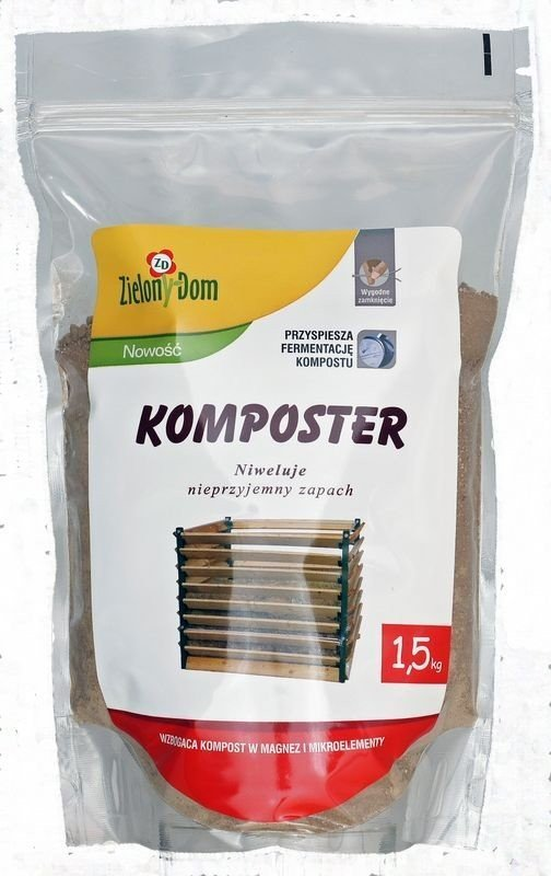 Zielony Dom Komposter nawóz kompostujący 1,5 kg