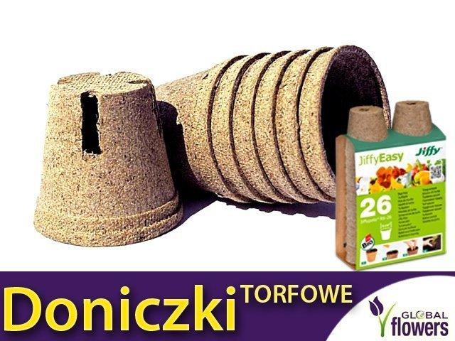 Przyjazne środowisku Doniczki Torfowe 26 Szt 6cm Sklep Ogrodniczy Plemreria