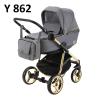 wózek REGGIO SPECIAL EDITION 3w1 (gondola+spacerówka + fotelik ) ADAMEX