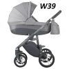 wózek wielofunkcyjny 2021 HOLLAND - nowa wersja  ( gondola+ spacerówka ) Bebetto